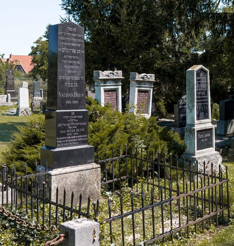 Sírkövek - Soproni Izraelita Hitközség